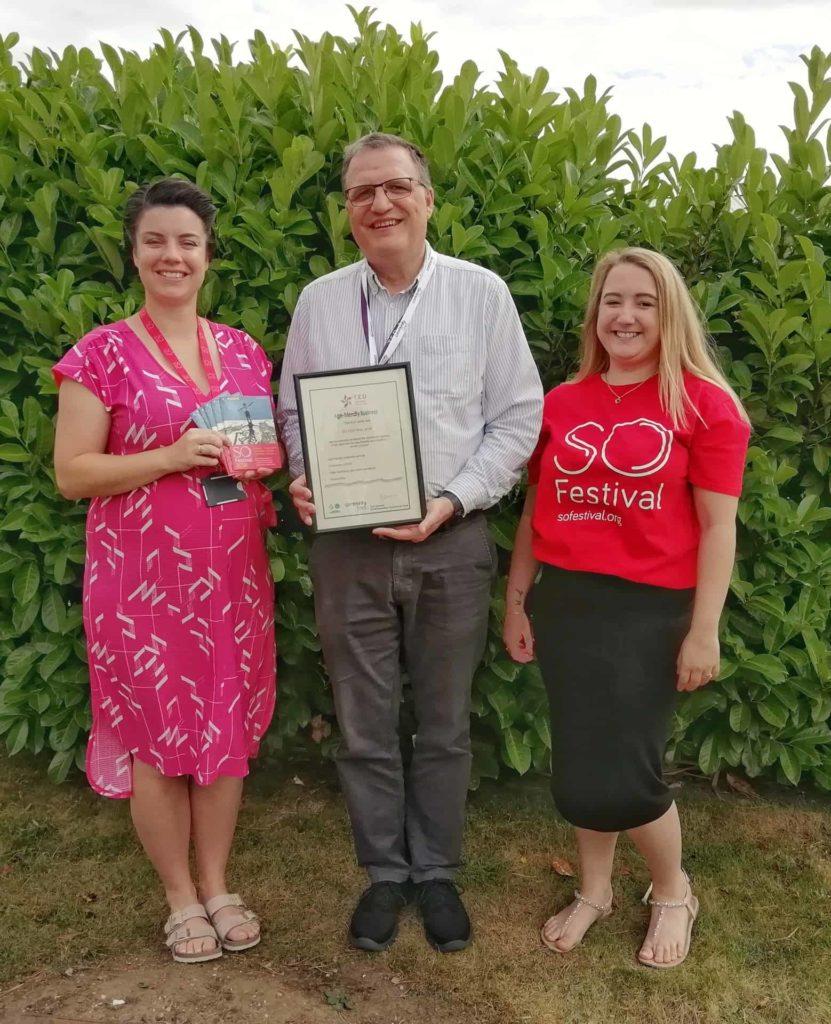 T.E.D Age Friendly Business Award